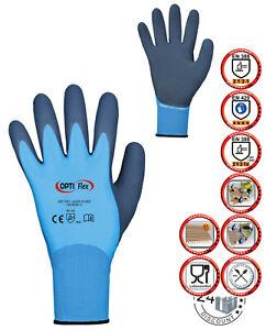 Arbeitshandschuhe Latex Handschuhe Polyamid Lebensmittel Schutz Wasserfest