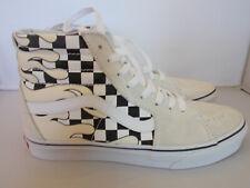 f2ed7f63f1 VANS SK8-Hi Checker Flame Skateboarding Shoes Men s Size 10 New In Box
