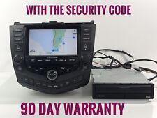 """HO353"" 03 04 Honda Accord Navigation 6 CD Player. NAVI DRIVE NOT INCLUDED"