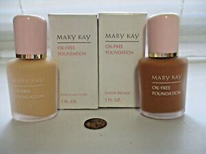 MARY KAY  oil free liquid foundation ~ new, discontinued stock ~ YOU CHOOSE