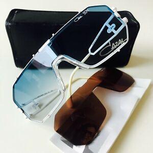 vintage CAZAL 904 col 70 white sunglasses W.Germany MEDIUM rare HipHop BBoy 903