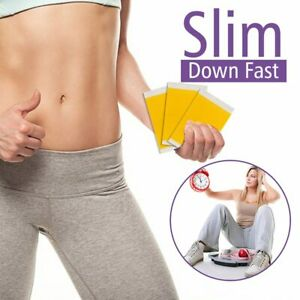 50 Patches/Lot Slimming Navel Sticker Weight Lose Slim Patch Burning Fat Patches