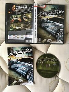 NEED FOR SPEED MOST WANTED BY EA (FULLY COMPLETE FROM NEW WITH MANUAL)