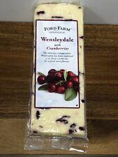 Ford Farm Wensleydale & Cranberries Cheese 400g Vegetarian