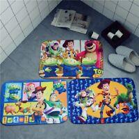 Toy story woody Door Mats Floor Mat kid seat pad slip Mat bed bathing room rug