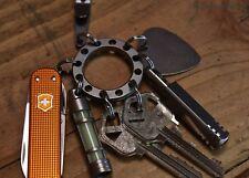 Tec Accessories UFO Mothership Uni-Flex Organizer Key Ring Keyring Titanium