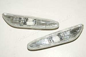 BMW 1 3 Series E87 E90 E91E92 E93 X1 Side Marker Lights Turn Signals Set 2004-