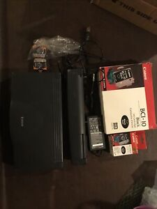 Canon BJC 85 Mobile Inkjet Printer With Lots Of Unused Ink And Accessories AS IS