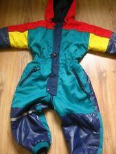 H&M retro boys Girls Waterproof Onepiece Snow Suit ski rain size 2 3 years 98cms