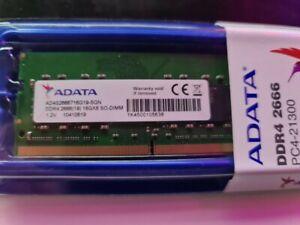ADATA 16GB DDR-4 SODIM PC4-21300 (2666Mhz)