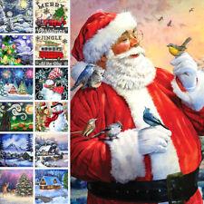 5D DIY Santa Claus Full Drill Diamond Painting Kits Home Decors Christmas Gifts