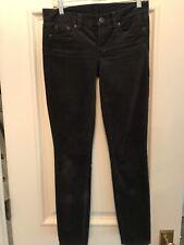 J.CREW Super Skinny Fit Corduroy Pants 25Tall Charcoal Gray