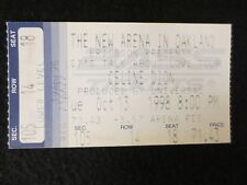 "Celine Dion Concert ""Lets Talk About Love"" 10/13/98 Ticket Stub Near Mint"