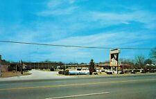 Rockingham,No.Carolina,Sandman Motel,Route 1,Chrome,Roadside,c.1950s