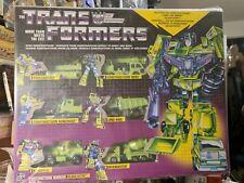 Transformers Vintage G1 Walmart Exclusive Constructicon Warrior Devastator MISB