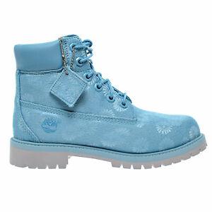 Timberland 6 Inch Classic Big Kids Boots Blue Floral tb0a174m