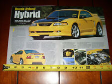 1999 ROUSH HYLAND MUSTANG SUPERCHARGED - ORIGINAL 2003 ARTICLE