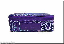 VERA BRADLEY Travel Pill Case - Lilac Tapestry NWT