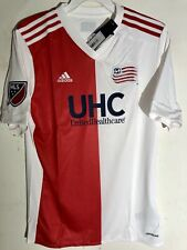 Adidas Youth MLS Jersey New England Revolution Team White Alt sz XS