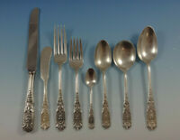 Milburn Rose by Westmorland Sterling Silver Flatware Set For 8 Service 71 Pieces