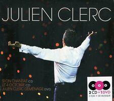 Julien Clerc : Si on chantait & Le 4 Octobre (2CD) + Julien Clerc déménage (DVD)
