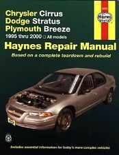 1995-2000 Haynes Chrysler Cirrus, Dodge Stratus & Plymouth Breeze Repair Manual