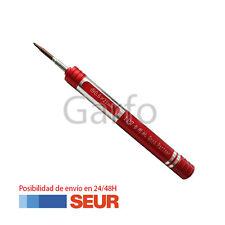 Destornillador Rojo Portatil Profesional Precision 0.6 Y para Iphone 7, 7+ Plus