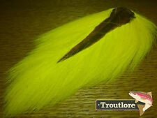 YELLOW BUCKTAIL NATURE'S SPIRIT SELECT BUCK TAIL - NEW FLY TYING HAIR MATERIAL