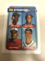 1992 Topps Top Prospects Chipper Jones #551 Baseball Card