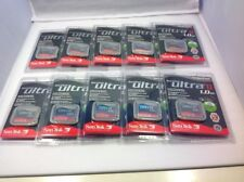 10x New SanDisk 1GB Ultra II CompactFlash Card (SDCFH-1024-901)