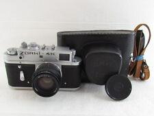 Zorki-4K KMZ Vintage 1975 USSR Russian RF 35mm Camera + Lens Jupiter-8 f2/50mm