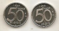 50 frank 1995 fr+vl * uit muntenset * FDC / UNC *