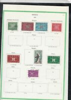 europa 1963 stamps page ref 18433