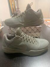 2015 Nike Zoom Kobe Black Mamba 5 V FTB Fade to Black Size 11.5 Tumbled Grey 11