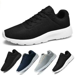 Mens Womens Sneakers Sports Shoes Lightweight Running Casual Lace Up Trainers