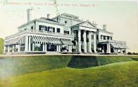 C. 1911 Vintage Postcard Residence of Mr. Charles F. Hoffman of NY Newport RI
