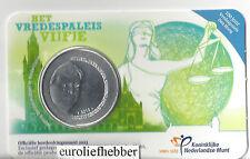 NEDERLAND            Het Vredespaleis Vijfje    2013  in Coincard    IN STOCK