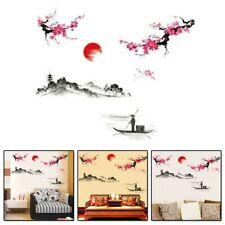 Stylish Wall Sticker Background Waterproof Bedroom Chinese Style DIY Hot