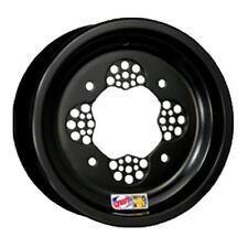 "DWT Ultimate ROK-OUT ATV Front Wheel Black 10"" 10x5 3+2 4/156 Polaris Sport 400L"