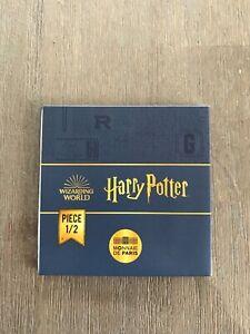 Pièce de 250 Euro 2021 Harry Potter En Or 1/2