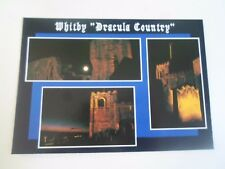 """Colour Bamforth Postcard """"The Dracula Country"""" Whitby Unused W007508L  BF4"""