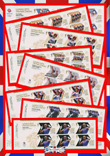 London 2012 Olympic Games Gold Medal Winners Set of 29 Minisheets.