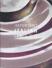WRIGHT ITALIAN GLASS Barbini Barovier Bianconi Poli Scarpa Seguso Venini Catalog