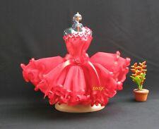 "Tutu Outfit Ballerina Ballet Red Handmade Costume for Barbie, Doll Dresses 12"""
