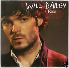 WILL DAILEY Rise RARE ACOUSTIC VERSION PROMO CD Single