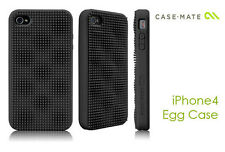 iPhone 4 Funda CASE-MATE Egg Negra + Protector Pantalla