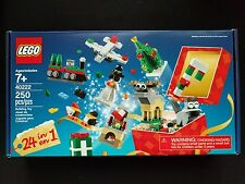 LEGO 40222 Christmas Build Up Advent 24 in 1 Holiday Countdown Set Calendar