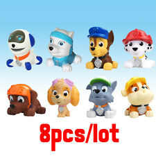 8pcs/sets Squeaky Floating Animals  Baby Bath Bathing Toys Pup Dog Patrol Puppy