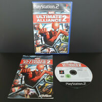 PS2 Marvel Ultimate Alliance 2 - feat. Spider-Man - Complete - RARE
