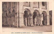 BF7363 st benoit sur loire loiret porche de la basiliqu france       France